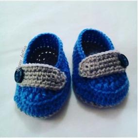Zapatos Tejidos Tipo Mocasines Para Bebes