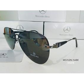 Óculos Mercedes-benz Modelo Aviador Af - 67951 Gun black c89799ee7c