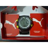 Relógio Masculino Digital Puma Com Cronometro E Alarme