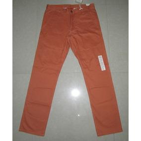 Pantalon Dockers Alpha Khaki Slim Talla 32 100% Original