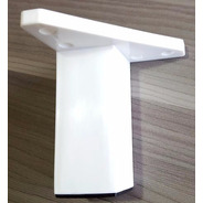 Pata Mueble 10cm Blanco 4 Unidades Plastica Moderna Verashop
