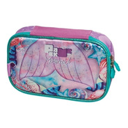 Estojo Divisória Pack Me Mermaid Sereia Pacific