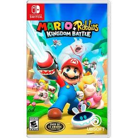 Mario + Rabbids Kingdom Battle - Switch - Envio Imediato