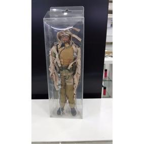 Miniatura Soldado De Guerra Roupa De Sniper Camuflado