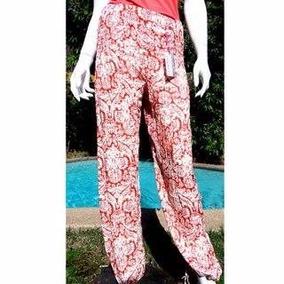 Pantalón Bombacho Mujer Estampado