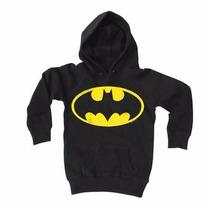 Sudadera Batman Niño Niña Tallas Super Heroes Dc Comics