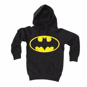 Sudadera Batman Niño Niña Tallas Super Heroes Bordado