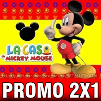 Kit Imprimible Mickey De La Casa De Mickey Mouse 2x1