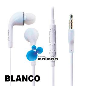 Audifonos Blancos Samsung In-ear Fit Eg920 S2 S3 S4 S5 S6 Nu