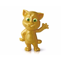 Brinquedo Talking Tom Feliz 2 Dourado Mc Donald