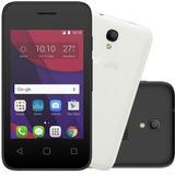 Celular Alcatel 4017 Pixi4 3g Tela 3,5 Capas Preta Branco