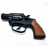 Arma Revolver Pistola Espoleta Brinquedo Bolinhas Replica