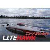 Litehawk Cargador 2 Barco De Alta Velocidad Del Control De R