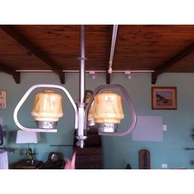 Lampara Araña Colgante Art Nouveau