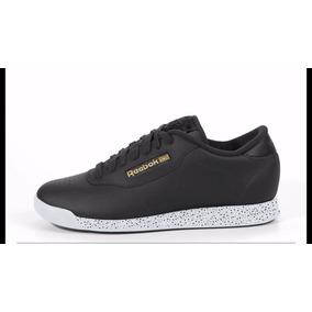 Zapatos negros casual Reebok Classic para mujer WvAo7kd