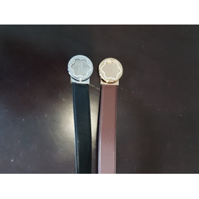 Cinturon Dama Montblanc Diferentes Colores Y Hebilla
