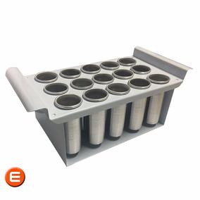 Forma Picoleteira Para 15 Picoles C/ Centralizador De Palito