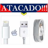 50 Cabo Usb Iphone 5g 5s 5c 6g 6s 7g E Plus Ipod Atacado