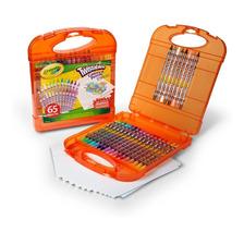 Set Crayola 65 Un Lapices De Colores Twistables