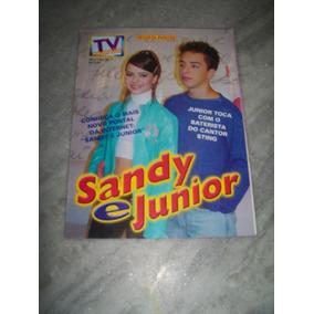 Sandy E Junior - Revista Poster Tv Mania Nº 28