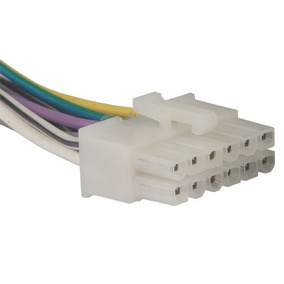 Conector Soquete Chicote Cabo Instalação Som Lenoxx Original