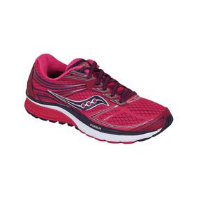 Zapato Saucony Correr Guide 8 Mujer - Rosa