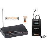 Ponto Monitor Sist. S/fio Uhf Fone Compatível C-ie6-u - 7829