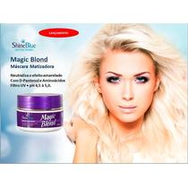 Máscara Matizadora Shine Blue Magic Blond