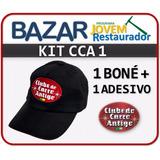 Kit 1: Clube Do Carro Antigo Do Brasil (boné+adesivo)