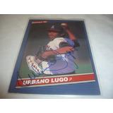 Rigoju Barajita Autografo Urbano Lugo Jr Donruss 1986