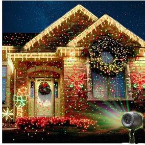 Projetor Laser Casa Jardim Surper Star Natal Bivolt Led Pisc