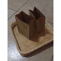 Bolsas Kraft Mini Con Fondo 50 Pz. Candybar