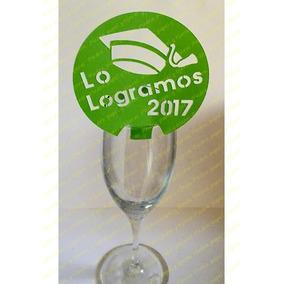 Decoración Para Copa Graduacion Mod. Birrete Lo Logramos