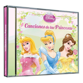 Cd - Disney Princesas Canciones De Princesas