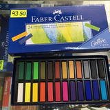 Tizas Pastel Cortas X24 Faber Castell