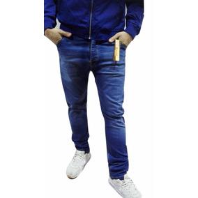 Pantalón Tacuara De Hombre Jean Elastizado.