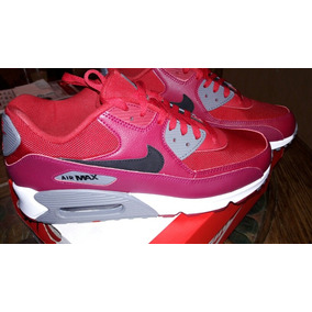 Tenis Nike Air Max 90 Essential Red Gym 100% Originales