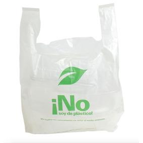 Bolsa Ecoshell Tipo Camiseta No Soy De Plástico!