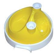 Bebedouro E Comedouro 3x1 Jetaplast System Ball - Amarelo