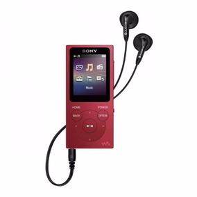 Mp3 Sony Nw-e393 4g Fm Vermelho