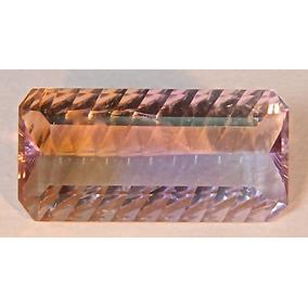Rsp 3412 Ametrino Boliviano Millênium 21,92x10,78 Com 10,9ct
