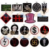 Parche Bordado Musica Rock Marilyn Manson X Unidad Adr
