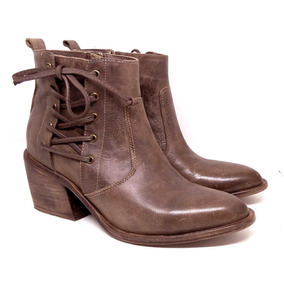 Botinetas Zapatos Mujer Botas Cuero Maggio Rossetto
