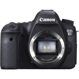 Câmera Canon Eos 6d Corpo 20.2mp Wi-fi Gps C\nota Lacrado