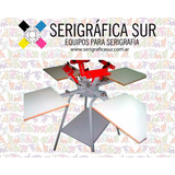 Oferta Marzo!! Calesita Textil, Pulpo Serigrafico 4x4 Prof.