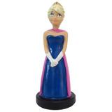 Frozen Turma Completa 5 Peças Coleção Elsa Anna Hans Resina