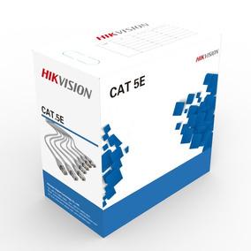 Cable Utp Hikvision Bobina 305 Mts Cat 5e Interior - Jck Mdp