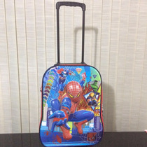 Mochila 3d Escolar Infantil Rodinhas Homem Aranha + Brinde