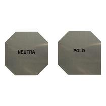 Placa Aço Inox 316l - P/ Gerador Hidrogênio Hho 1x120x120mm
