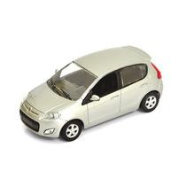 Miniatura Em Metal Novo Fiat Palio Prata 1:43 Norev
